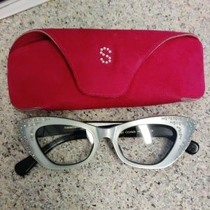 Friezerframes  France eyeglasses 50s vtg look